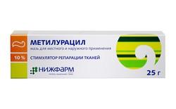 Показания к использованию и свойства мази Метилурацил